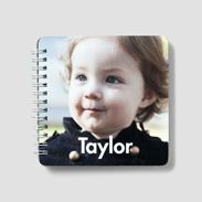 My baby would love this for church or a car ride. Faces of all of those she loves...