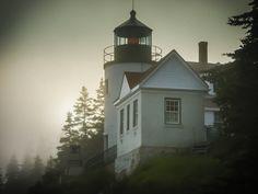 Bass Harbor Head Lighthouse 2004 by Rob Laskin on 500px