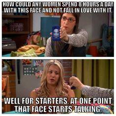 Big Bang Theory love that show Big Bang Theory Quotes, Big Bang Theory Funny, The Big Band Theory, Big Bang Theory Zitate, Tbbt, Funny Crush Memes, Memes Humor, Funny Quotes, Nerd Humor
