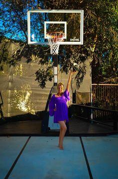 4G Design does landscape design.  Hollywood Hills basketball court!