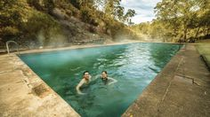 Brave the cold for a dip in one of these naturally occurring bush beauties.