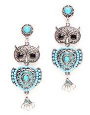 Owl Dangle Earrings http://www.sassnfrass.net/#a_aid=SacramentoSass