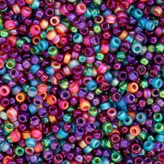 Size 15 Jewel Round Japanese Seed Bead Mix by FusionBeads.com® | Fusion Beads