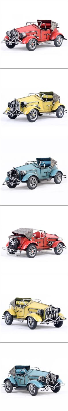 2016 new year gift full classic early vintage metal signs convertible car collection shabby chic retro rustic home decoration