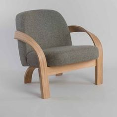Tom Raffield Arbor Upholstered Armchair - armchairs