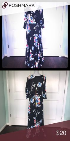 cf1b112dc8b GORGEOUS cropped sleeve floral maxi NEW!! GORGEOUS cropped sleeve floral  maxi