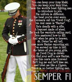 Love my Marine <3