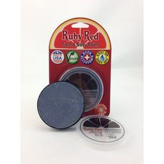 RUBY RED PAINT, INC. Individual Color 18ml/0.61oz Face and Body Paint Color: