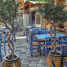 Tavern in Nafpaktos town, Aitoloakarnania region west Greece Mykonos, Santorini, Samos, Acropolis, Istanbul Turkey, Greece Travel, Greek Islands, Crete, Athens