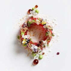 "1,159 Likes, 8 Comments - Chef's Roll, Inc. (@chefsroll) on Instagram: ""Yellowfin Sashimi • Jason Iberico Ice Cream • Ponzu • Wasabi • Pork Crackling • Flowers by…"""