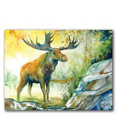 Another great find on #zulily! Moose Creek Wrapped Canvas #zulilyfinds