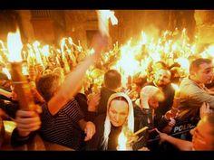 Православие. Хитрость Ватикана по схождение Благодатного Огня в храме гр...