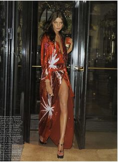 """Noctambule"" Fashion Editorial by Terry Richardson for Vogue Paris"