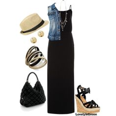 Comfy Summer style by lovelyingreen on Polyvore