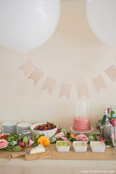 A Spring Birthday Party