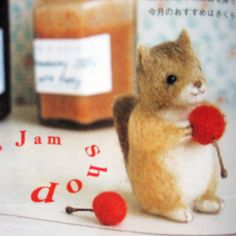 9784072689035 small animals made of felt-japanese craft book | by feltcafe