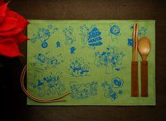 聖誕節限定餐墊/麋鹿過耶誕/2012