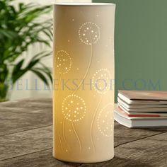 The Belleek Shop Belleek Pottery, Voss Bottle, Design Elements, Dandelion, Irish, Candles, Interior Design, Lighting, Elements Of Design