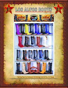 Vitrina de Los Altos Boots Pidela