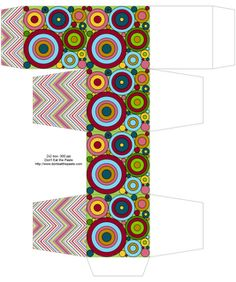 Don't Eat the Paste: Printable box pattern