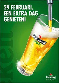#Schrikkeldag inhaker van #Heineken: Het was de 4 jaar wachten meer dan waard.