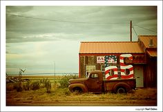 Route 66 - vintage pick up truck