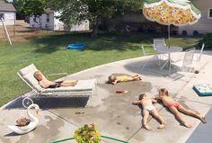 Mundane summer term scene in photography