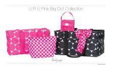 URU Pink Big Dot Collection Thirty One Spring 2014   www.mythirtyone.com/ChrisCina
