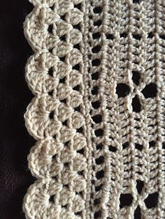 Ravelry: chitweed's The Midwife Baby Blanket Baby Afghan Patterns, Crochet Blanket Patterns, Baby Blanket Crochet, Crochet Baby, Crochet Borders, Filet Crochet, Crotchet Patterns, Knitting Patterns, Knitting Projects