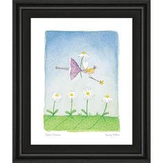 """22 in. x 26 in. """"Felicity Wishes Iii"""" by Emma Thomson Framed Printed Wall Art"""