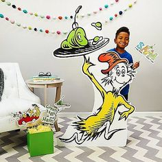 Dr-Seuss-Party-Room-Decorations-Green-Eggs-and-Ham-Life-Size-Cardboard-Stand