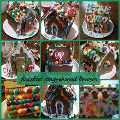 Gingerbread houses are an important Christmas tradition for our family. Add in a short course on it and it was a fun and tasty unit.