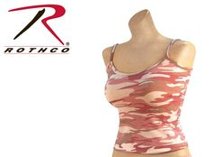 Rothco Baby Pink Camo Tank TopOnly $8.83*Price subject to change without notice.