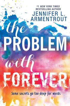 Portada revelada: The Problem With Forever de Jennifer L. Armentrout ~ Blue Diamonds Books