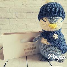Crochet Penguin, Crochet Toys, Amigurumi Toys, Fix You, Handmade Toys, Plushies, Penguins, Best Friends, Colours
