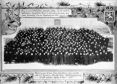Finns opposed Russification both peacefully and by force. A great address of over 500 000 names is collected and sent to St. Petersburg with this delegation.
