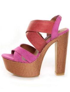 Shoe Republic LA Prime Platform Sandals, $45