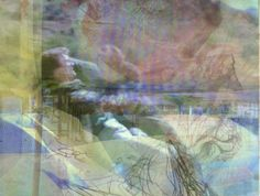 The Cascade still, 2014. Ren Adams Art. New Media. Mojave desert.