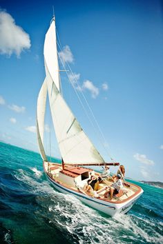 Sailing and classy style