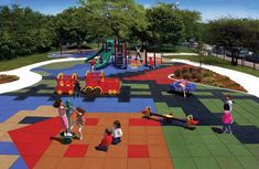 Playground rubber tiles manufactured with a combination of recycled and virgin rubber and has 10 year warranty. Playground Safety, Outdoor Playground, Playground Ideas, Playground Mats, Outdoor Rubber Tiles, Playground Flooring, Soft Flooring, Rubber Flooring, Outdoor Playset