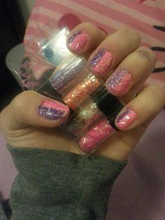Glitter+Crackle♡