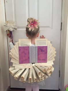 Looking for some costume inspiration for this year's World Book Day? Or perhaps you're just one of those people who likes any excuse to get. Book Fairy Costume, Book Week Costume, Book Character Costumes, Book Characters, Dress Up Day, Halloween Books, 8th Birthday, Fancy Dress, Ladder Decor