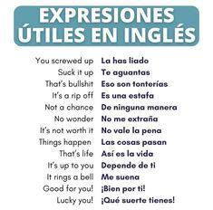 English Speaking Skills, Teaching English Grammar, Spanish Language Learning, English Vocabulary Words, Useful Spanish Phrases, English Phrases, Learn English Words, English Tips, English Study