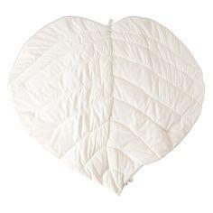 Offwhite Leaf tæppe