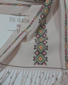 Beaded Cross Stitch, Cross Stitch Borders, Cross Stitch Designs, Cross Stitching, Cross Stitch Embroidery, Cross Stitch Patterns, Hand Embroidery Design Patterns, Palestinian Embroidery, Swedish Weaving