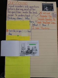 Anchor Chart Tip: Use highlighter tape to mark your stopping points. Then use the sticky notes to write down what you plan to write into the anchor chart. This really helps me to stay on-track when delivering a lesson. Plus, the highlighter tape is a great visual tool for students to use as a signal that a stopping point is coming up.