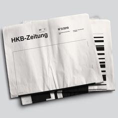 HKB-Zeitung Infographics on Behance