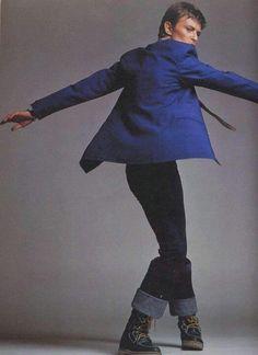 Photographie Clive Arrowsmith Novembre 1977 ☇