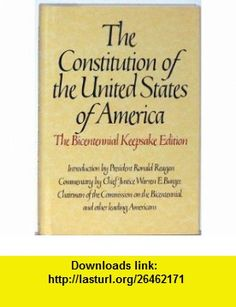 Constitution of the United States of America (Bicentennial Keepsake Edition) (9780553052022) Byron Preiss, President Ronald Reagan , ISBN-10: 0553052020  , ISBN-13: 978-0553052022 ,  , tutorials , pdf , ebook , torrent , downloads , rapidshare , filesonic , hotfile , megaupload , fileserve
