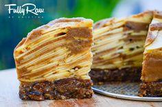 a slice of FullyRaw Apple Pie. A healthy, simple, and low-fat raw food vegan holiday pie you will love! Raw Vegan Desserts, Raw Vegan Recipes, Vegan Treats, Vegan Foods, Healthy Treats, Healthy Desserts, Dessert Recipes, Kristina Carrillo Bucaram, Roh Vegan